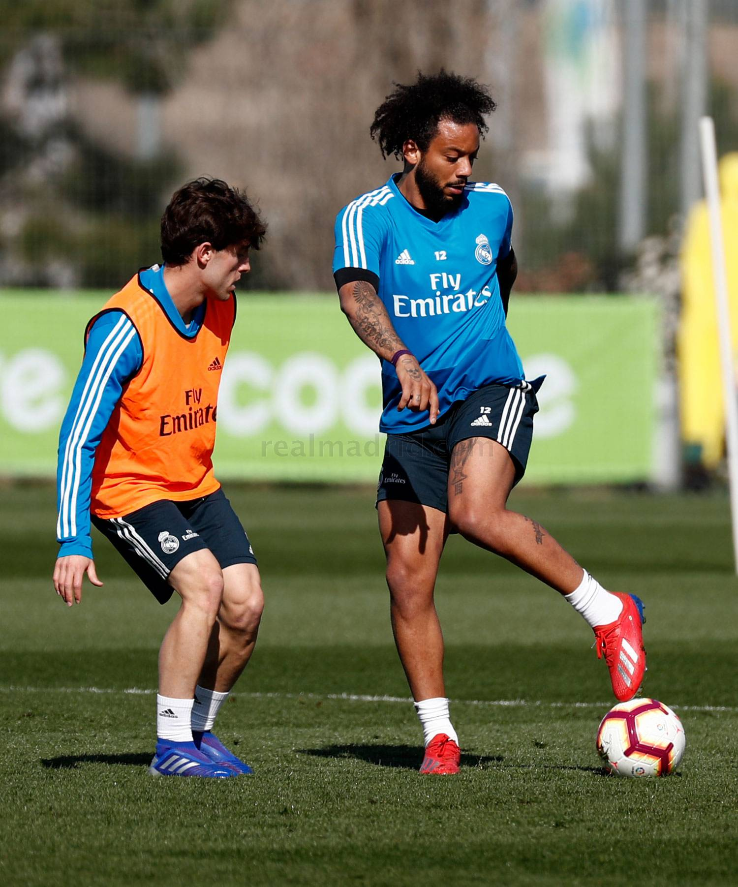 Real Madrid - Entrenamiento del Real Madrid - 28-02-2019