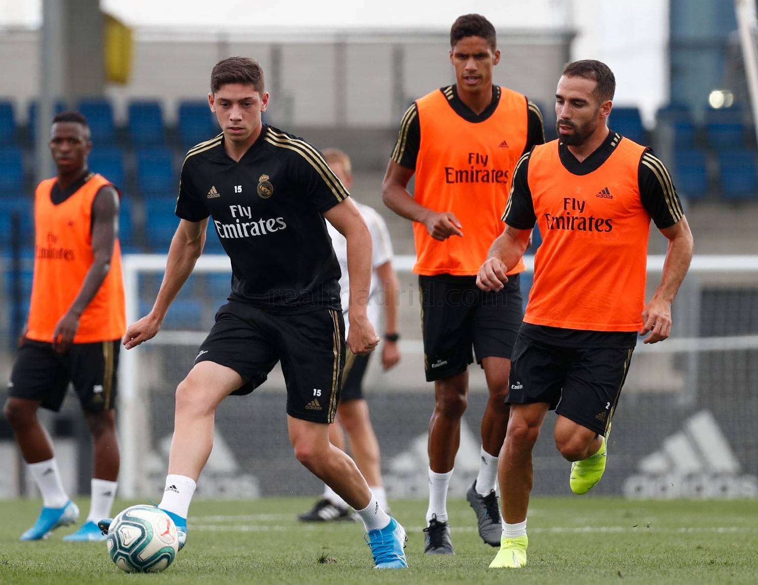 Real Madrid - Entrenamiento del Real Madrid  - 19-08-2019