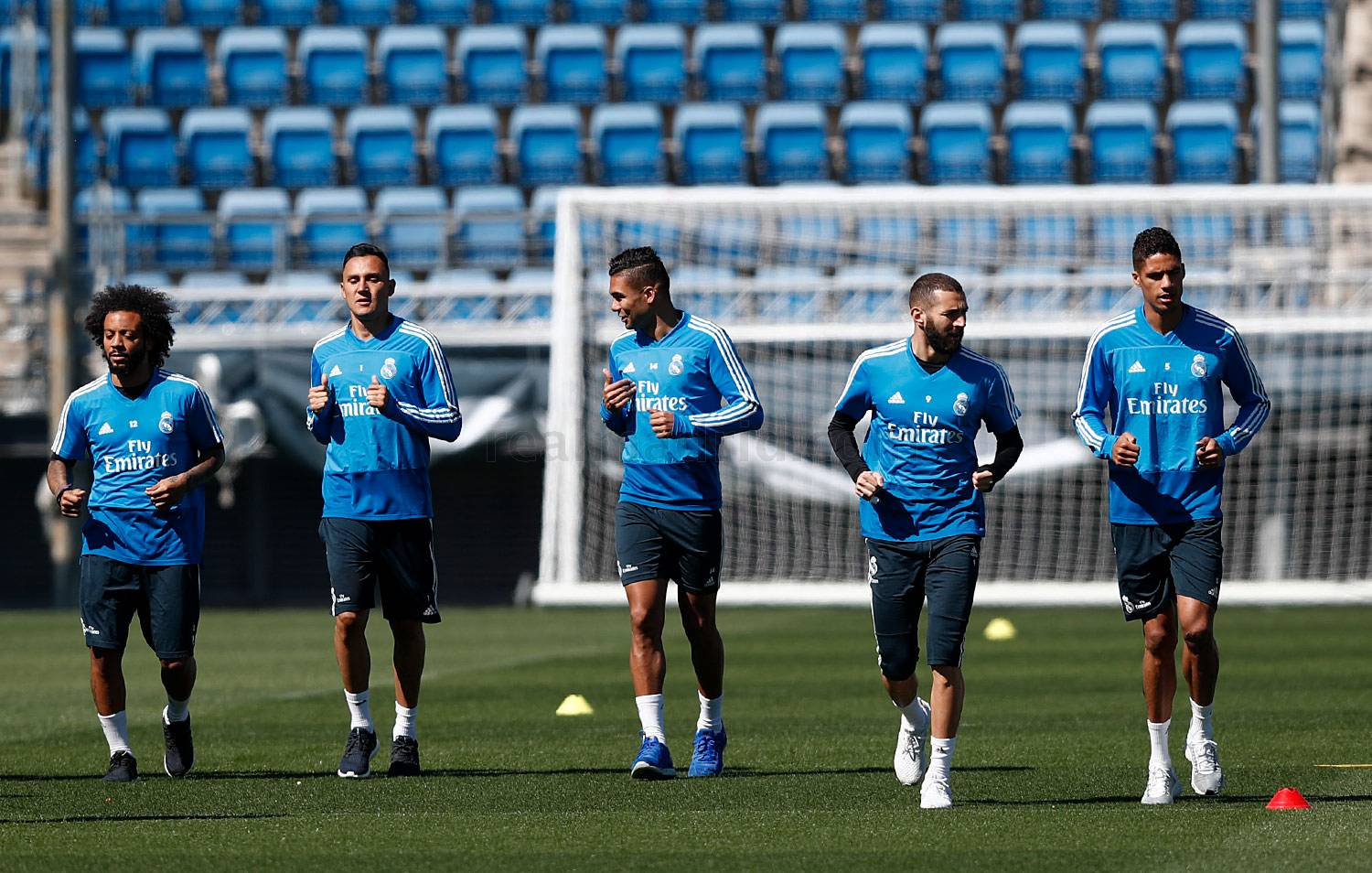 Real Madrid - Entrenamiento del Real Madrid - 04-04-2019