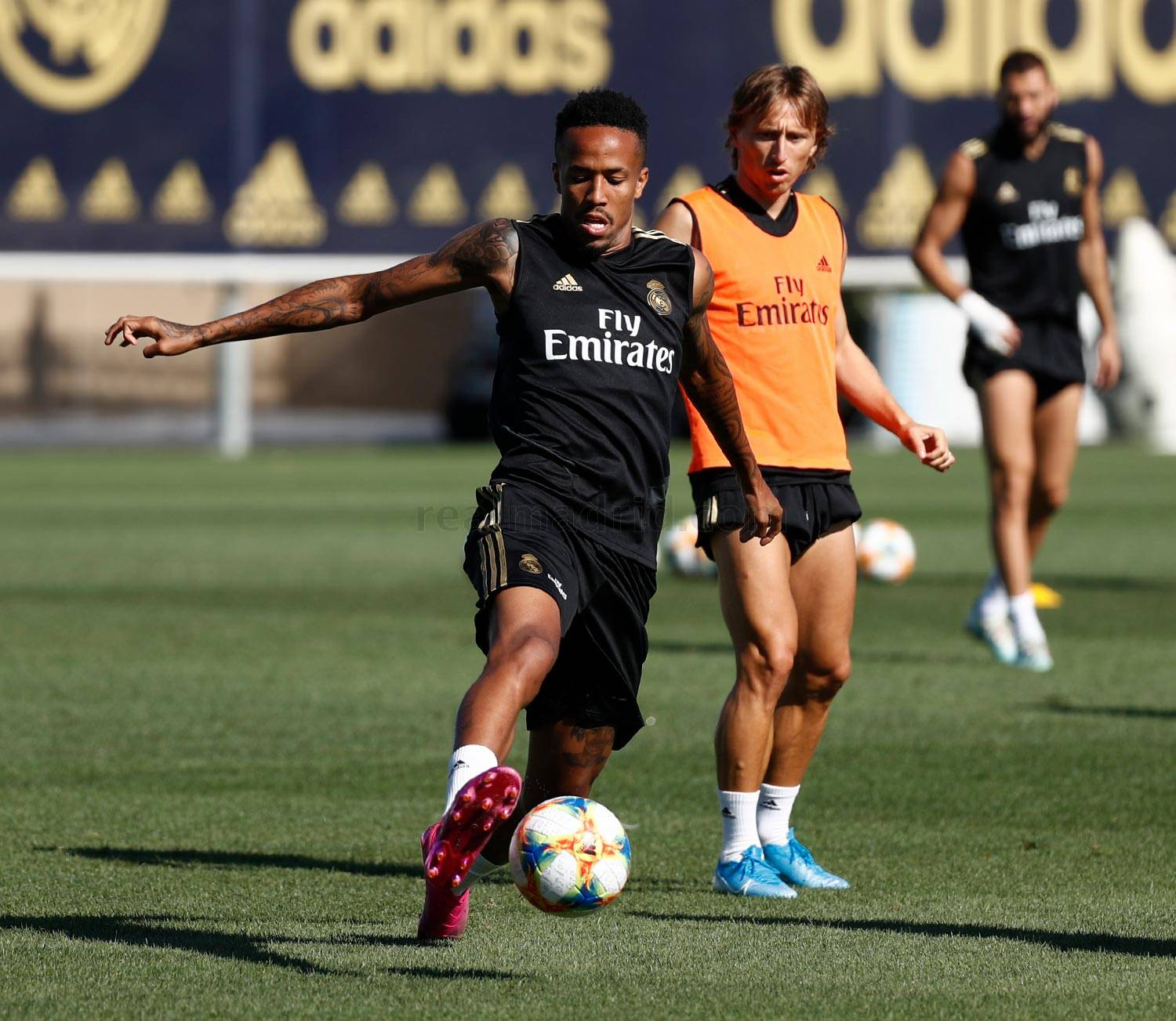 Real Madrid - Entrenamiento del Real Madrid  - 10-08-2019