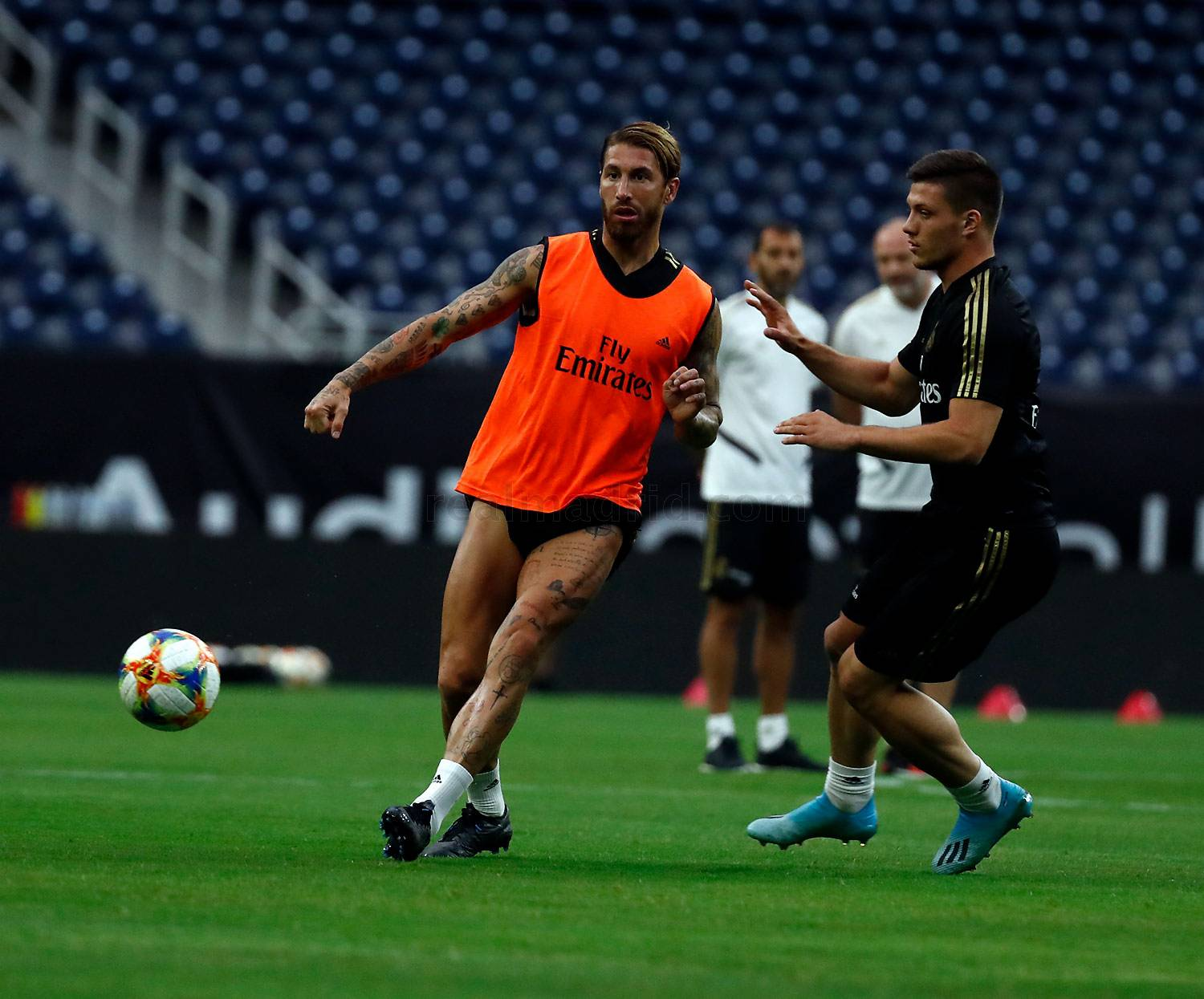 Real Madrid - Entrenamiento del Real Madrid en Houston - 20-07-2019