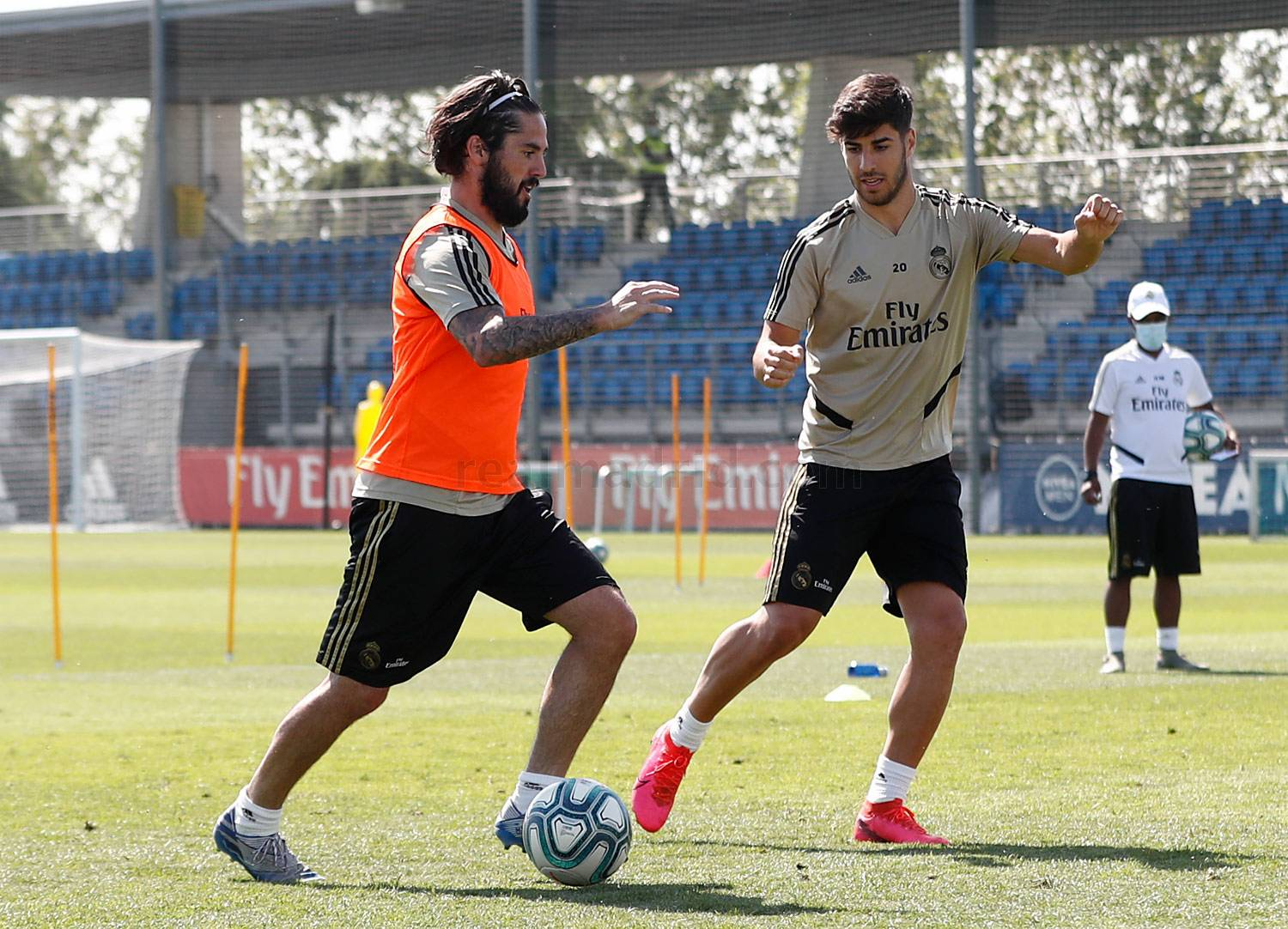 Real Madrid - Entrenamiento del Real Madrid  - 25-05-2020