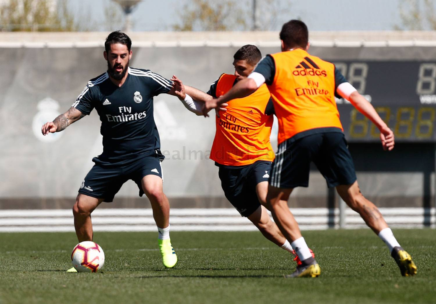 Real Madrid - Entrenamiento del Real Madrid - 21-03-2019