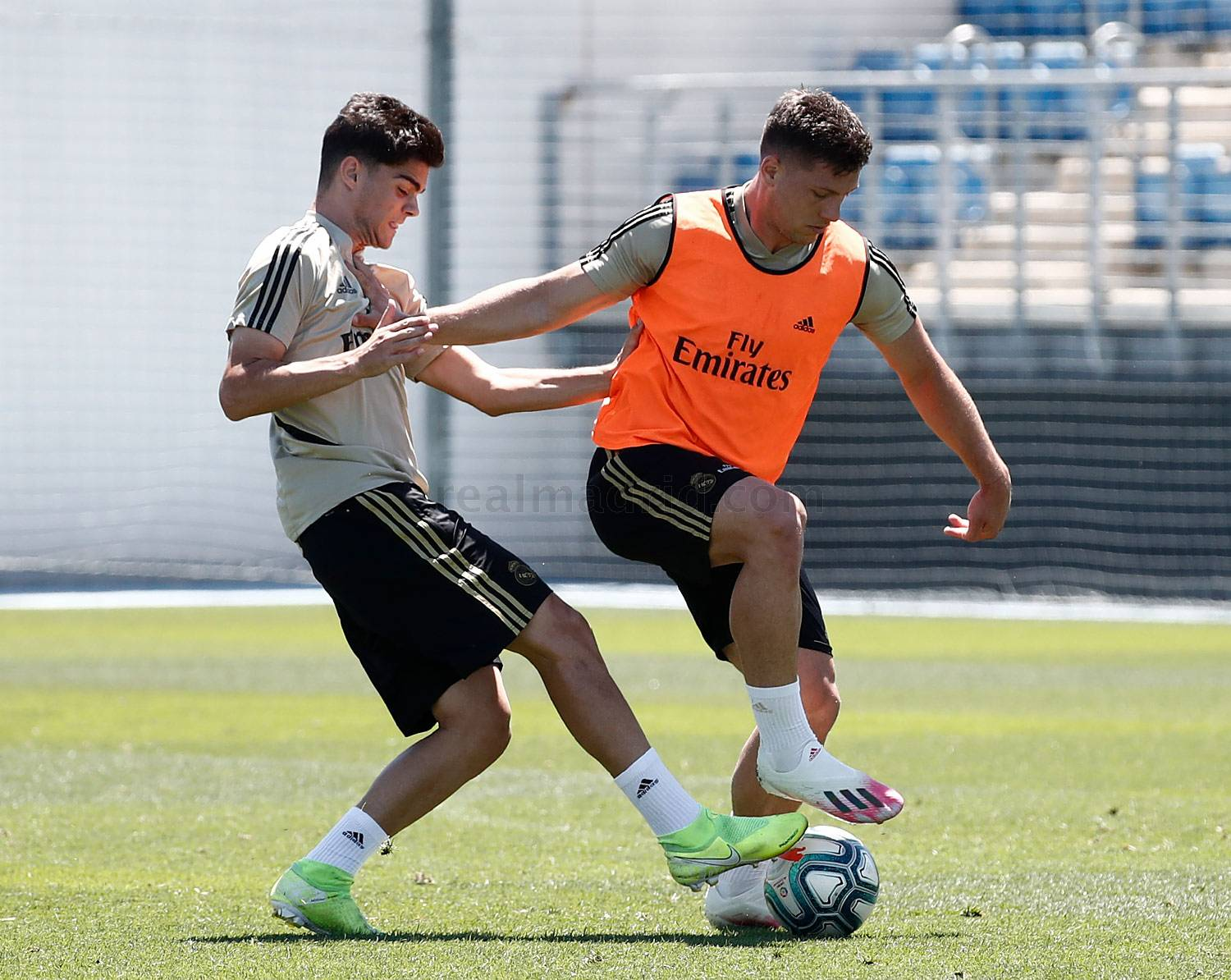 Real Madrid - Entrenamiento del Real Madrid  - 04-07-2020