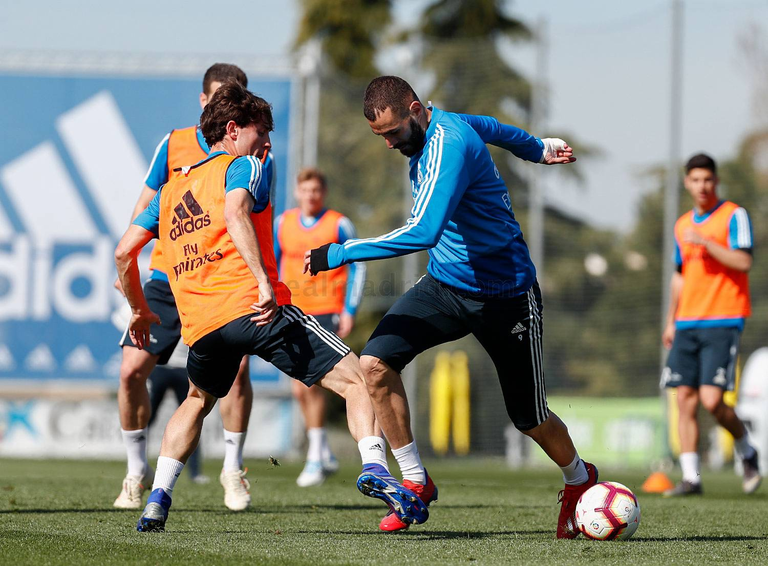 Real Madrid - Entrenamiento del Real Madrid - 09-03-2019