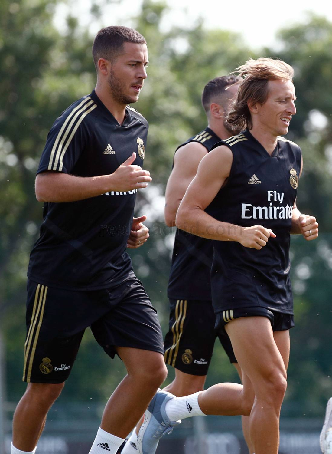 Real Madrid - Entrenamiento del Real Madrid en Montreal - 10-07-2019
