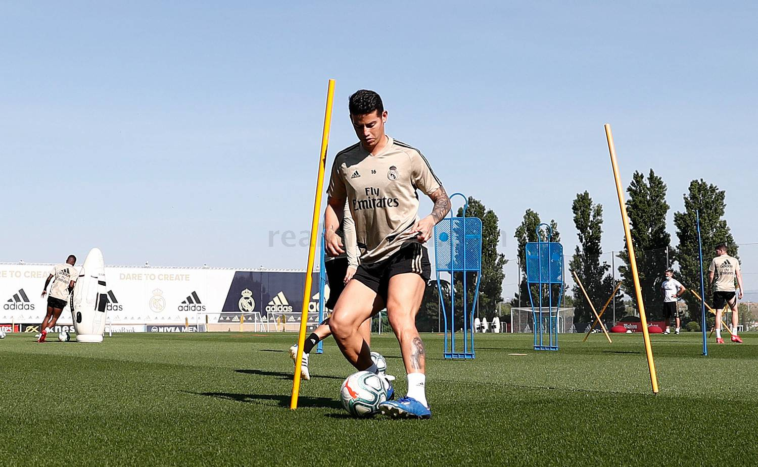 Real Madrid - Entrenamiento del Real Madrid  - 22-05-2020