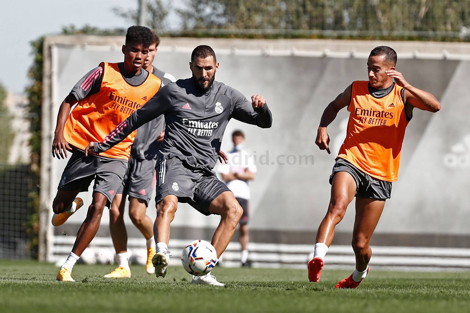 Real Madrid - Entrenamiento del Real Madrid  - 03-09-2020