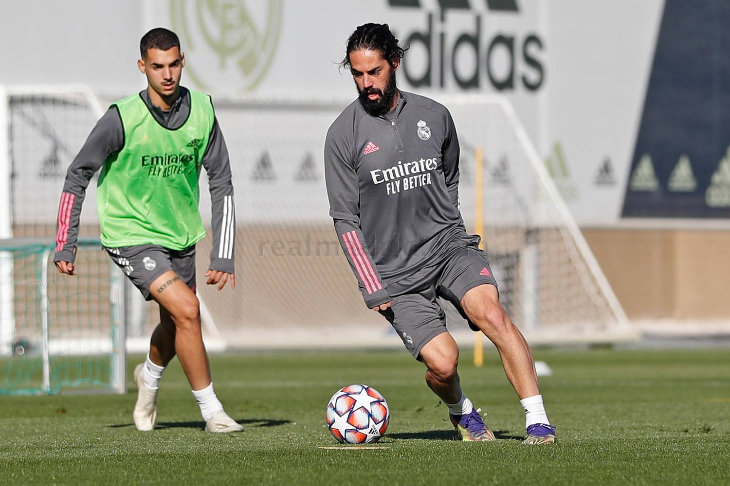 Real Madrid - Entrenamiento del Real Madrid  - 22-11-2020
