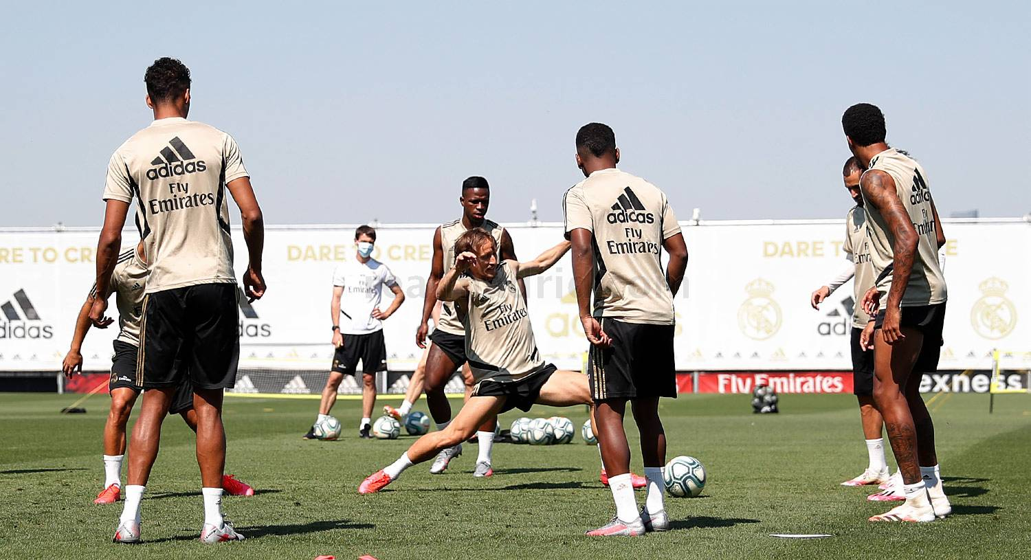 Real Madrid - Entrenamiento del Real Madrid  - 23-06-2020