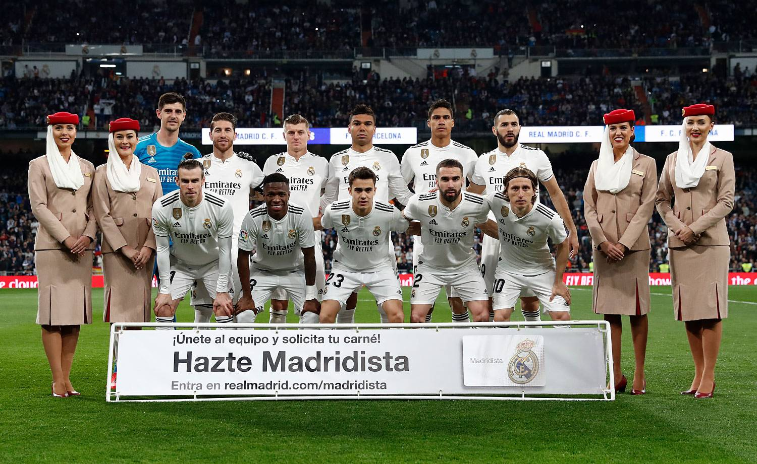 Real Madrid - Real Madrid - Barcelona - 02-03-2019