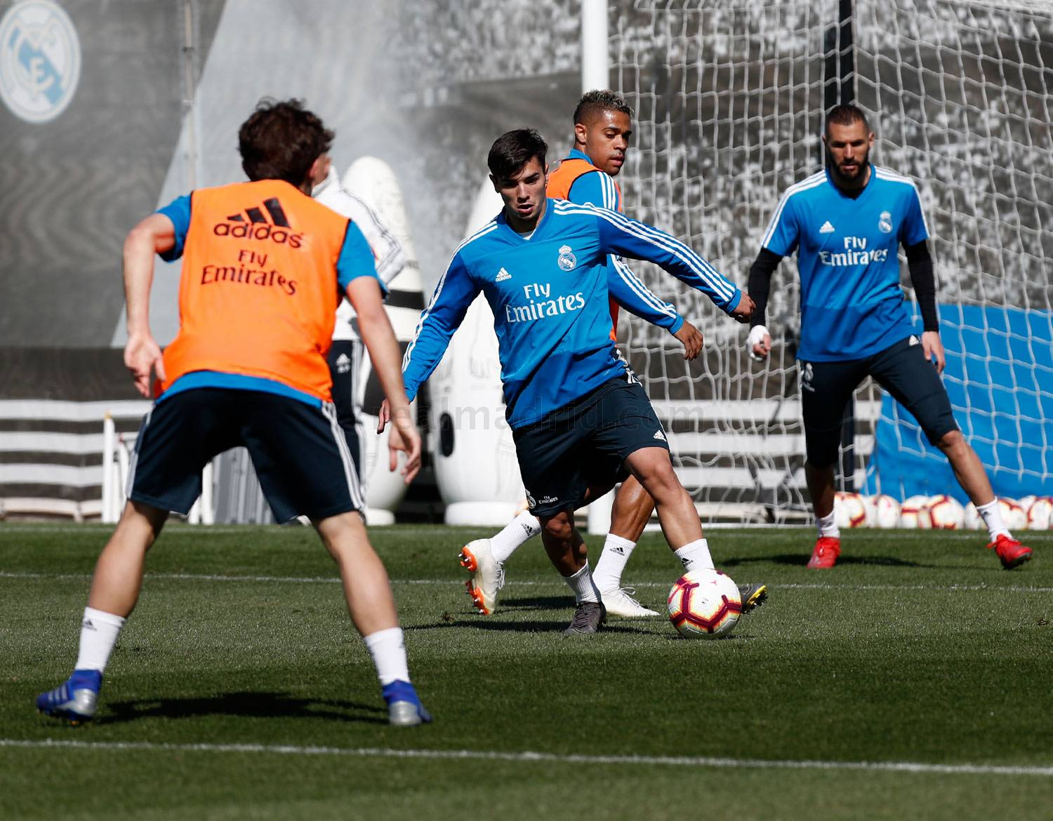 Real Madrid - Entrenamiento del Real Madrid - 22-03-2019
