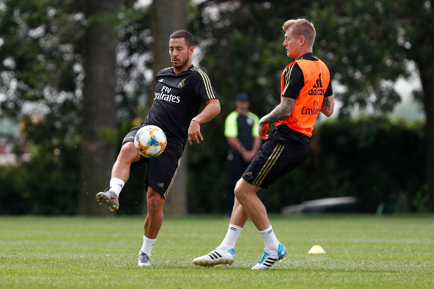 Real Madrid - Entrenamiento del Real Madrid en Montreal - 17-07-2019