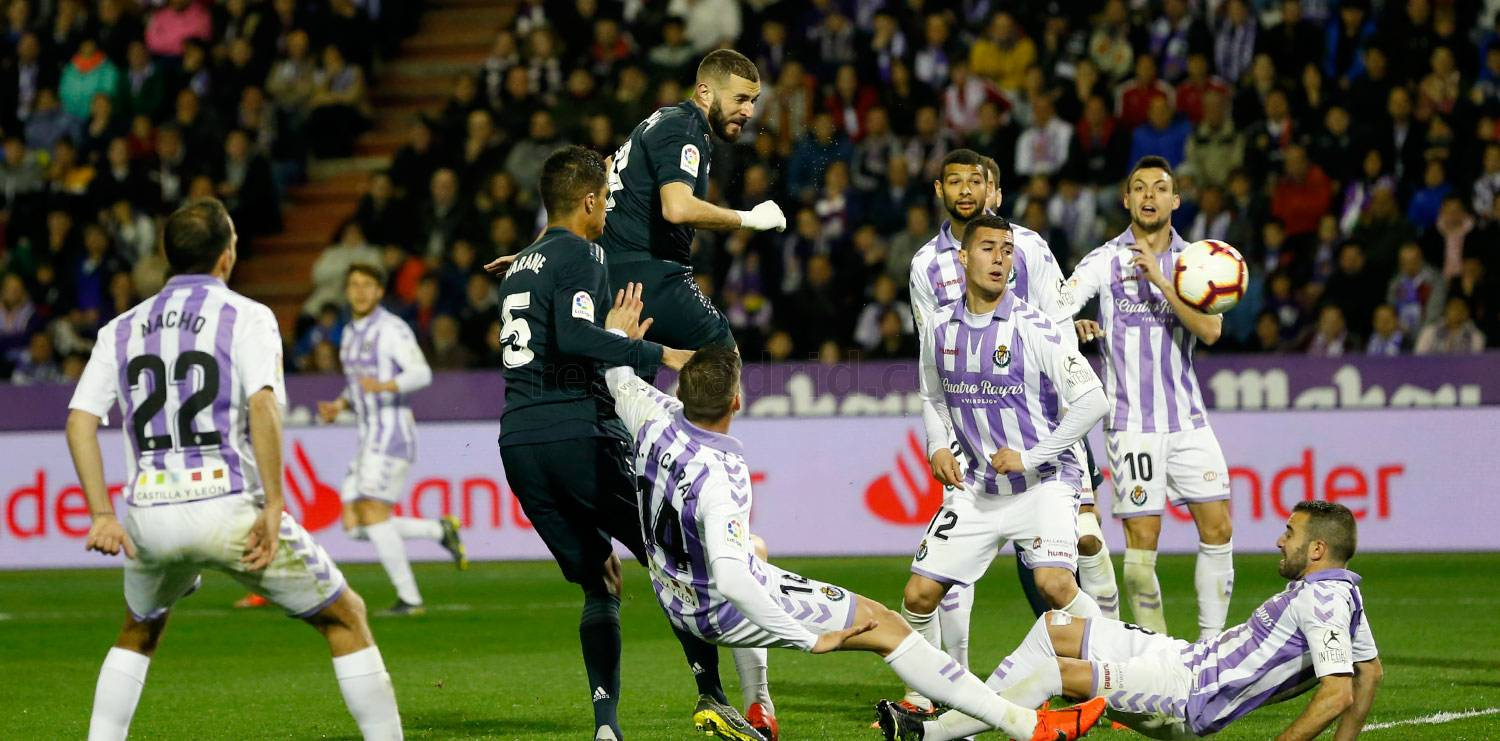 Real Madrid - Valladolid - Real Madrid - 11-03-2019