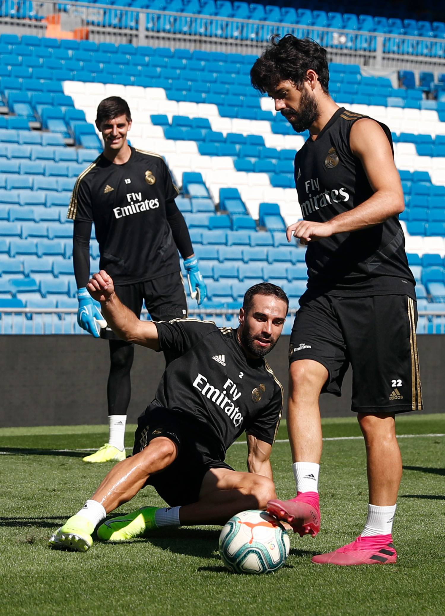 Real Madrid - Entrenamiento del Real Madrid  - 22-08-2019