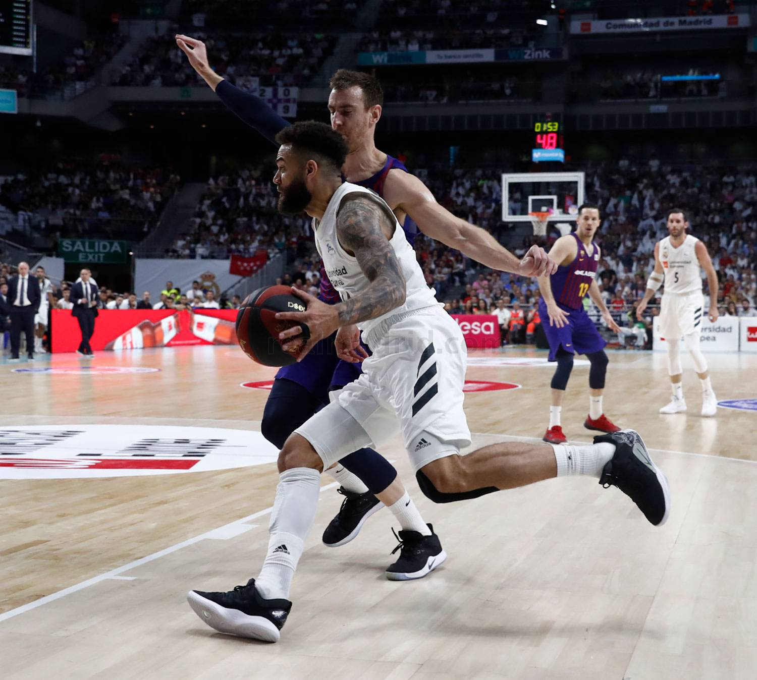 Real Madrid - Real Madrid - Barcelona Lassa - 15-06-2019