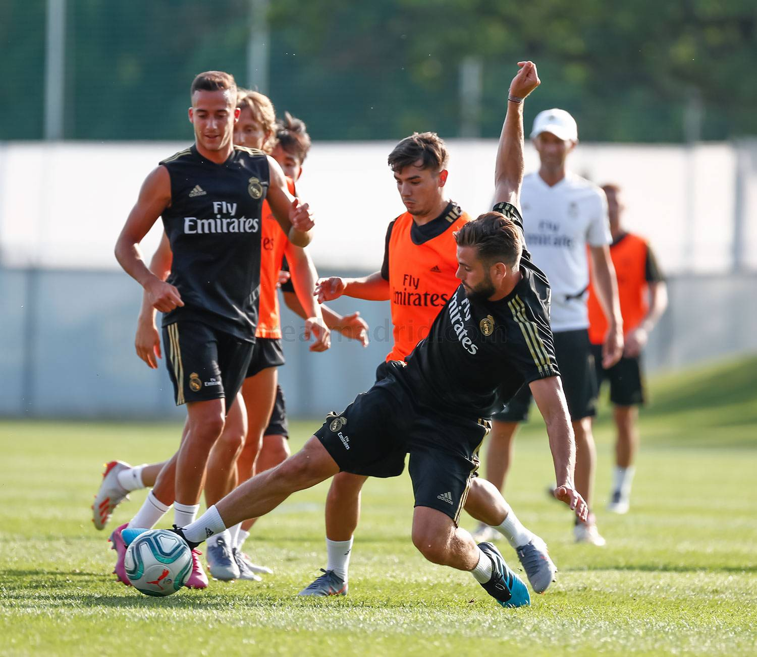 Real Madrid - Entrenamiento del Real Madrid en Montreal - 11-07-2019