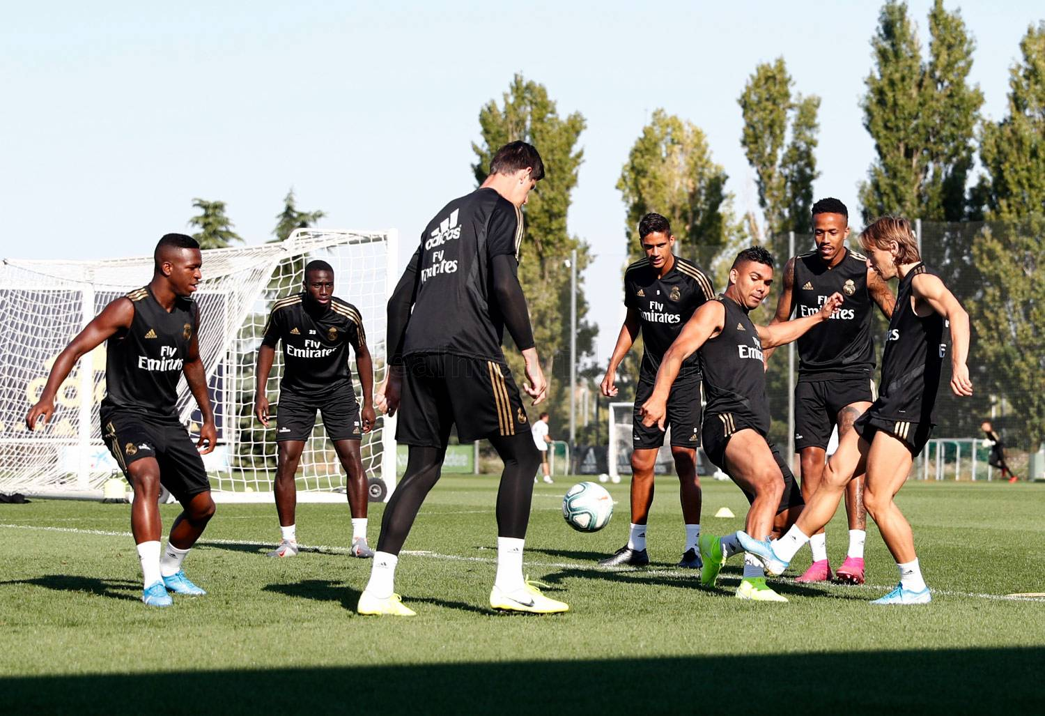 Real Madrid - Entrenamiento del Real Madrid  - 23-08-2019