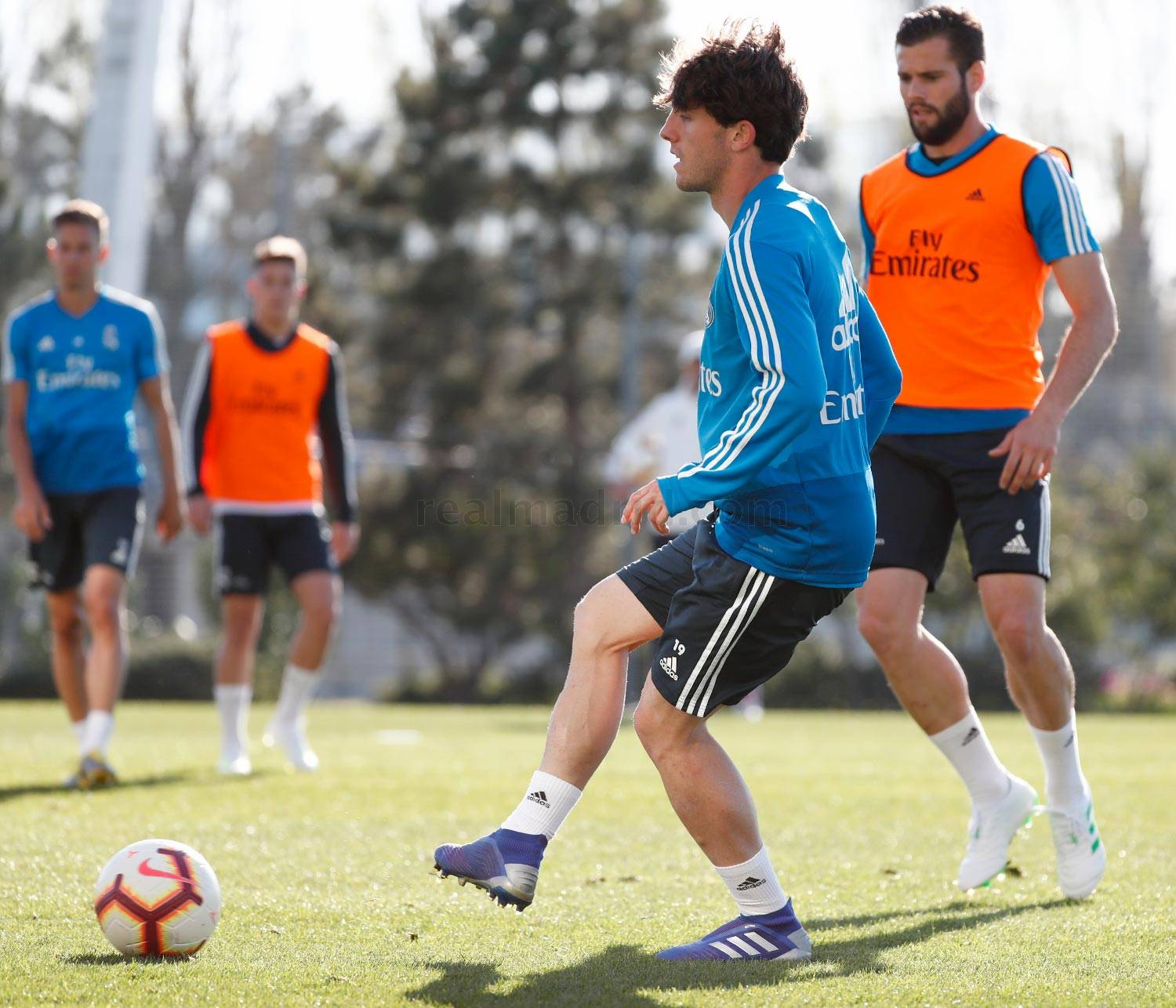Real Madrid - Entrenamiento del Real Madrid - 26-03-2019