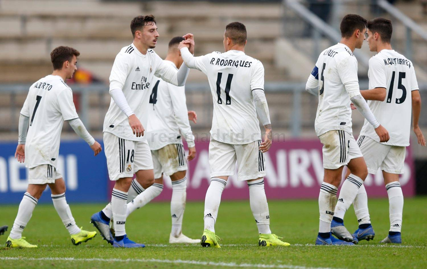 Real Madrid - Roma - Juvenil A - 27-11-2018