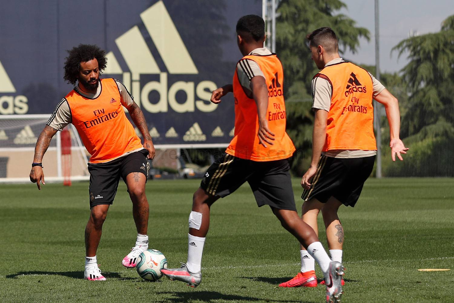 Real Madrid - Entrenamiento del Real Madrid  - 19-06-2020