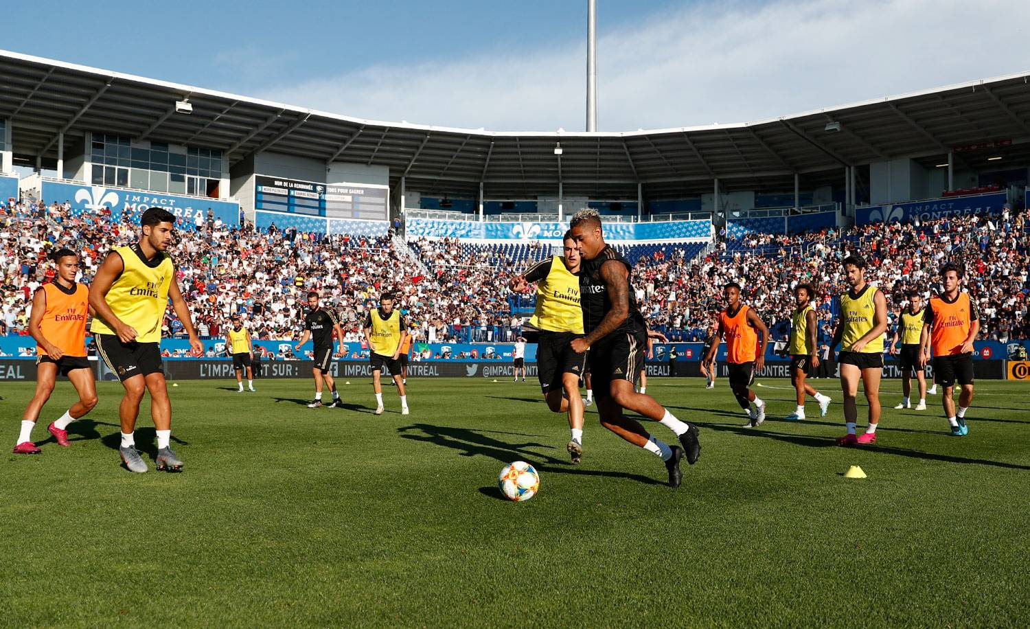 Real Madrid - Entrenamiento del Real Madrid en Montreal - 18-07-2019
