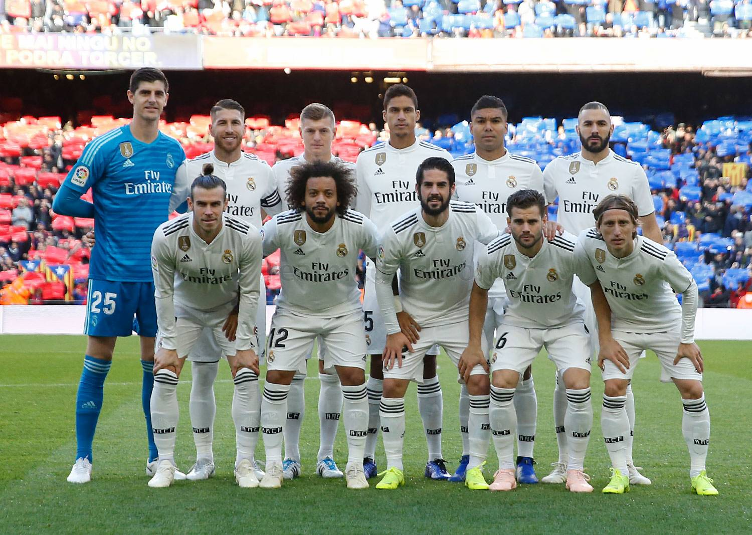 Real Madrid - Barcelona - Real Madrid - 28-10-2018