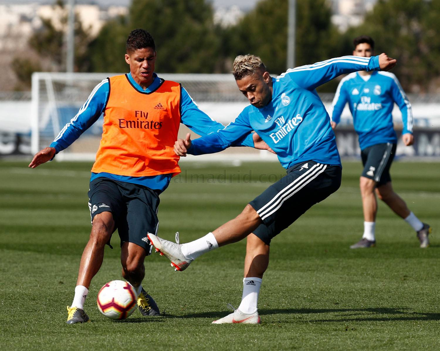 Real Madrid - Entrenamiento del Real Madrid - 20-02-2019