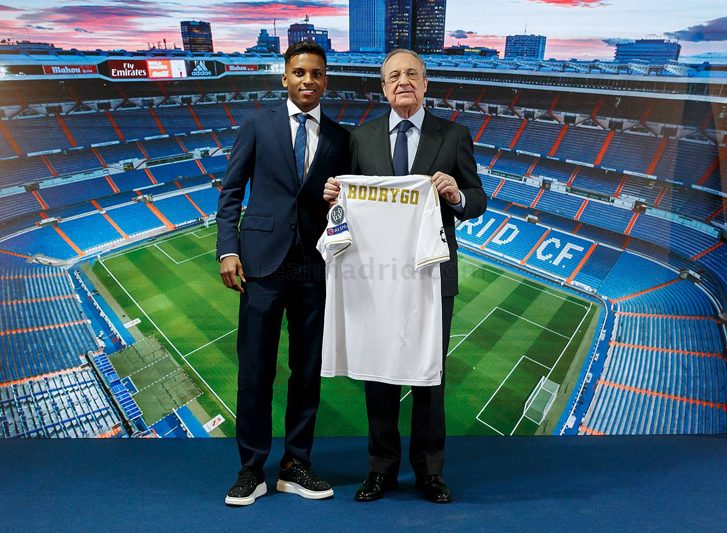 ¿Cuánto mide Rodrygo Goes? - Altura - Real height _av19716_20190618014452