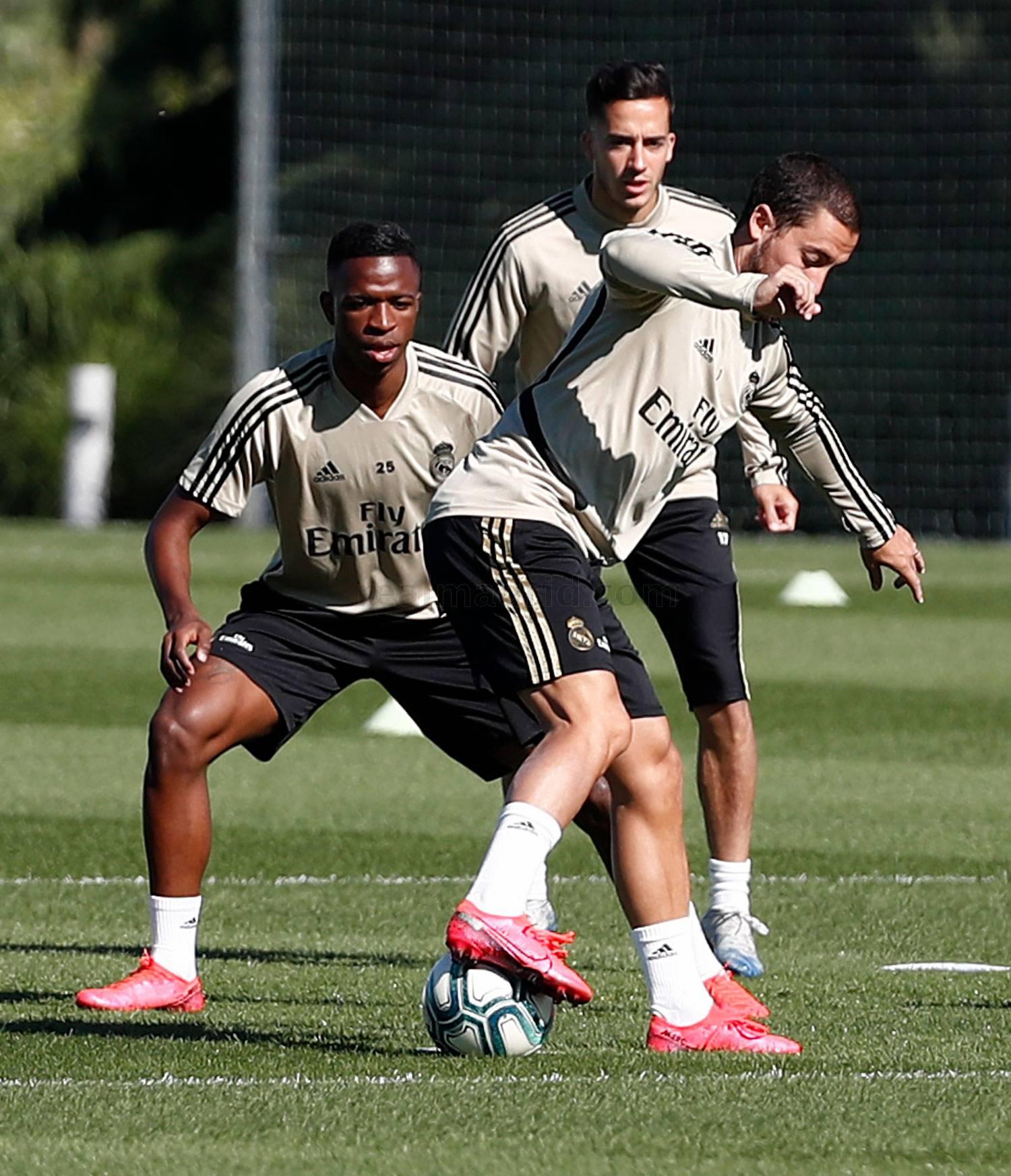 Real Madrid - Entrenamiento del Real Madrid  - 19-05-2020