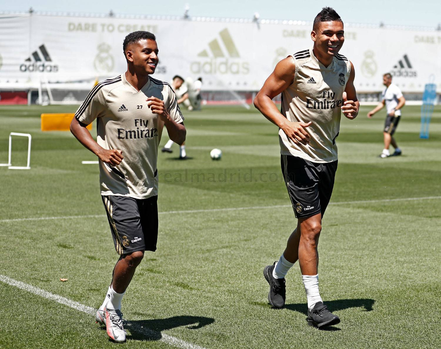 Real Madrid - Entrenamiento del Real Madrid  - 17-07-2020