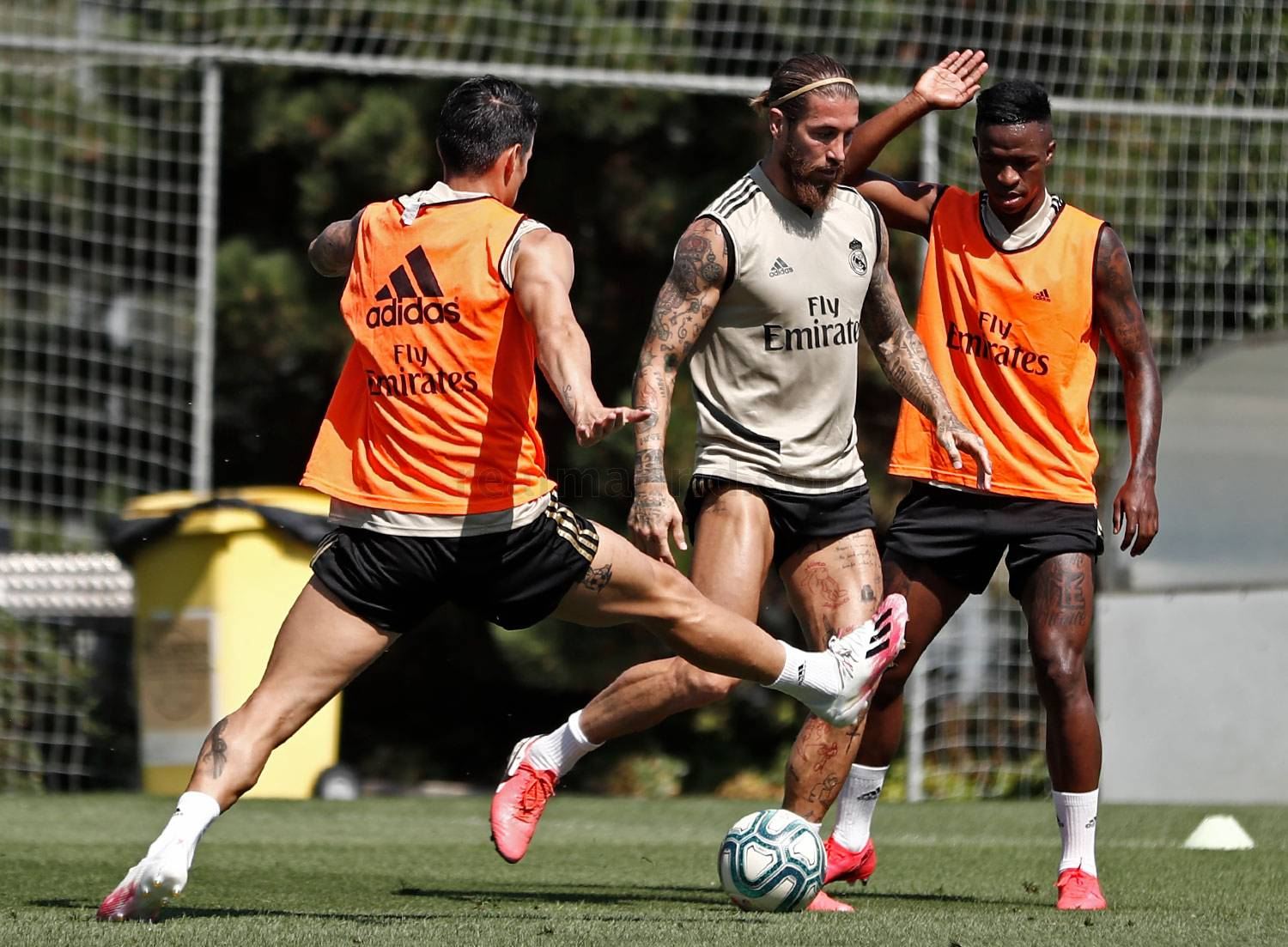 Real Madrid - Entrenamiento del Real Madrid  - 11-07-2020