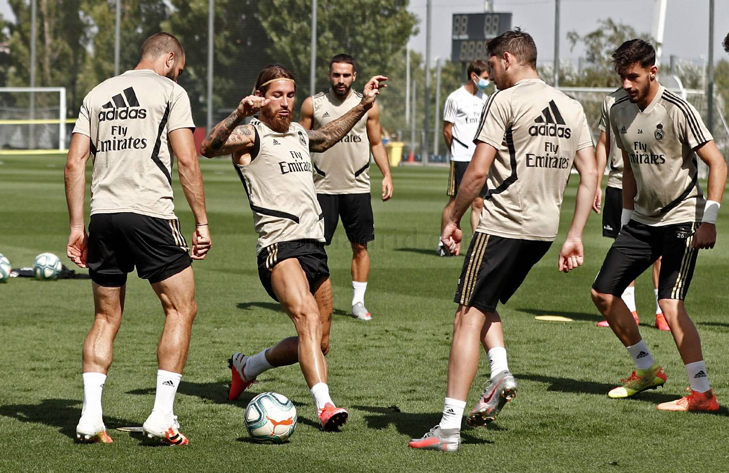 Real Madrid - Entrenamiento del Real Madrid  - 12-07-2020