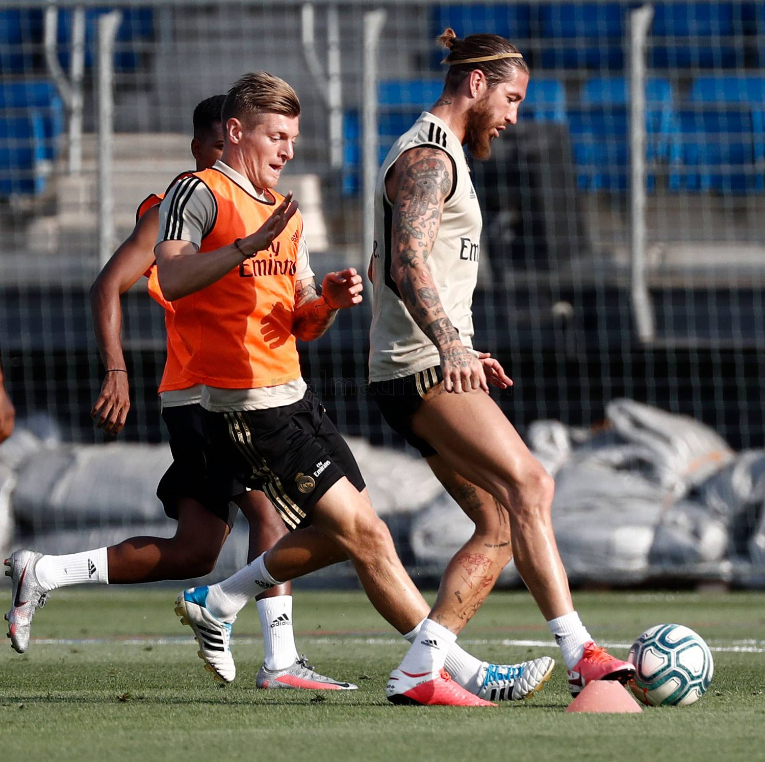 Real Madrid - Entrenamiento del Real Madrid  - 07-07-2020