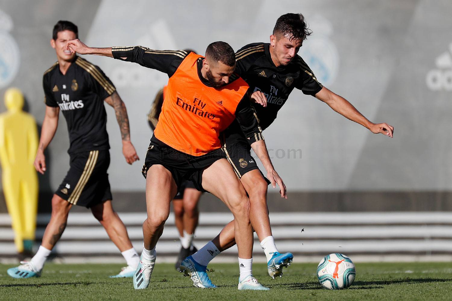 Real Madrid - Entrenamiento del Real Madrid  - 15-10-2019