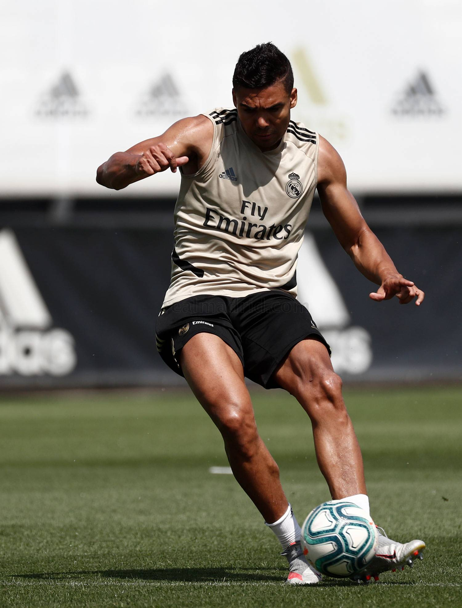 Real Madrid - Entrenamiento del Real Madrid  - 25-06-2020