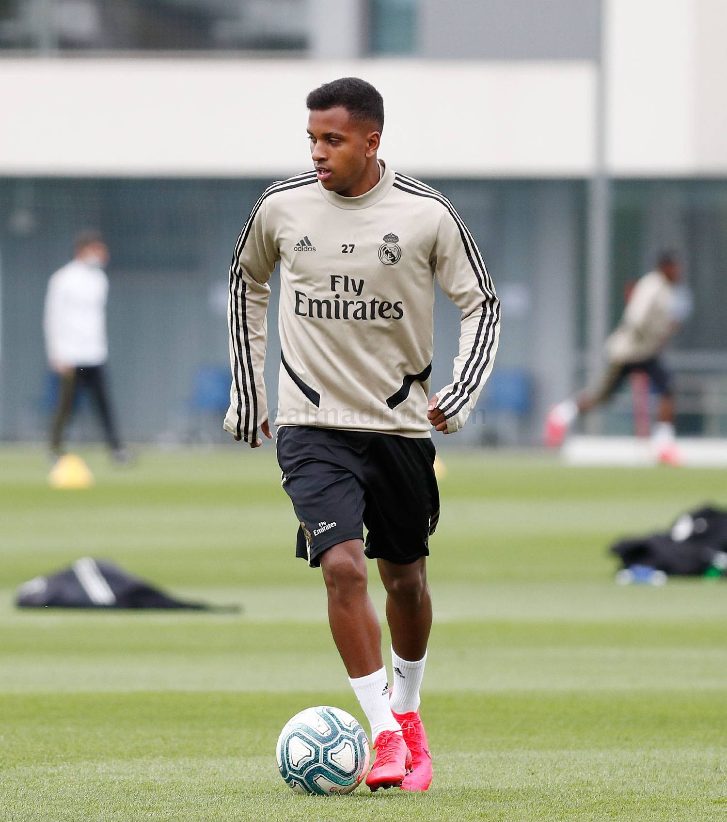 Real Madrid - Entrenamiento del Real Madrid  - 12-05-2020