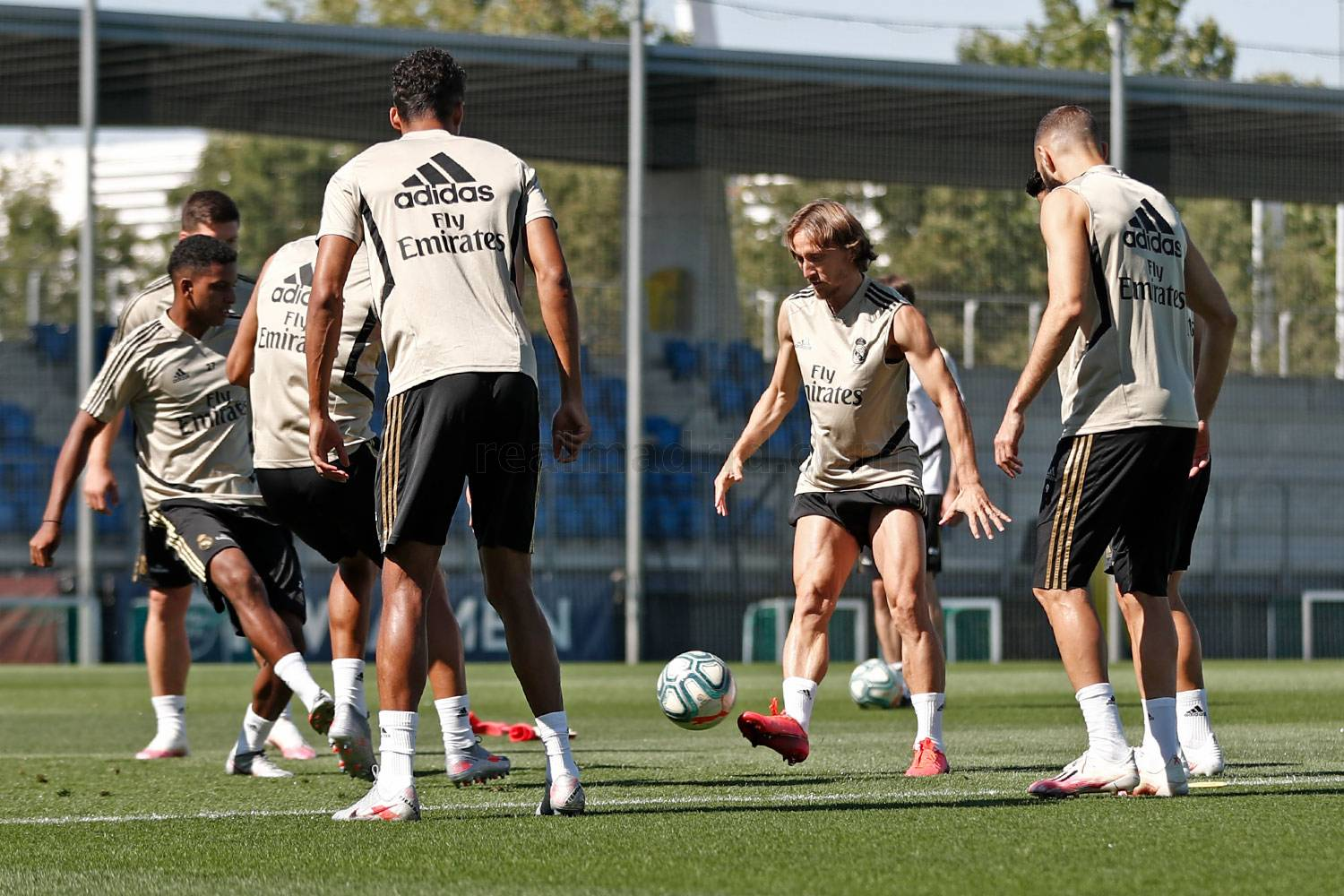 Real Madrid - Entrenamiento del Real Madrid  - 15-07-2020