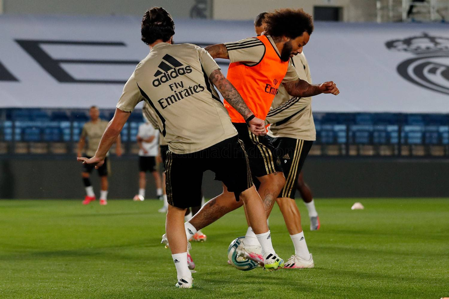 Real Madrid - Entrenamiento del Real Madrid  - 17-06-2020