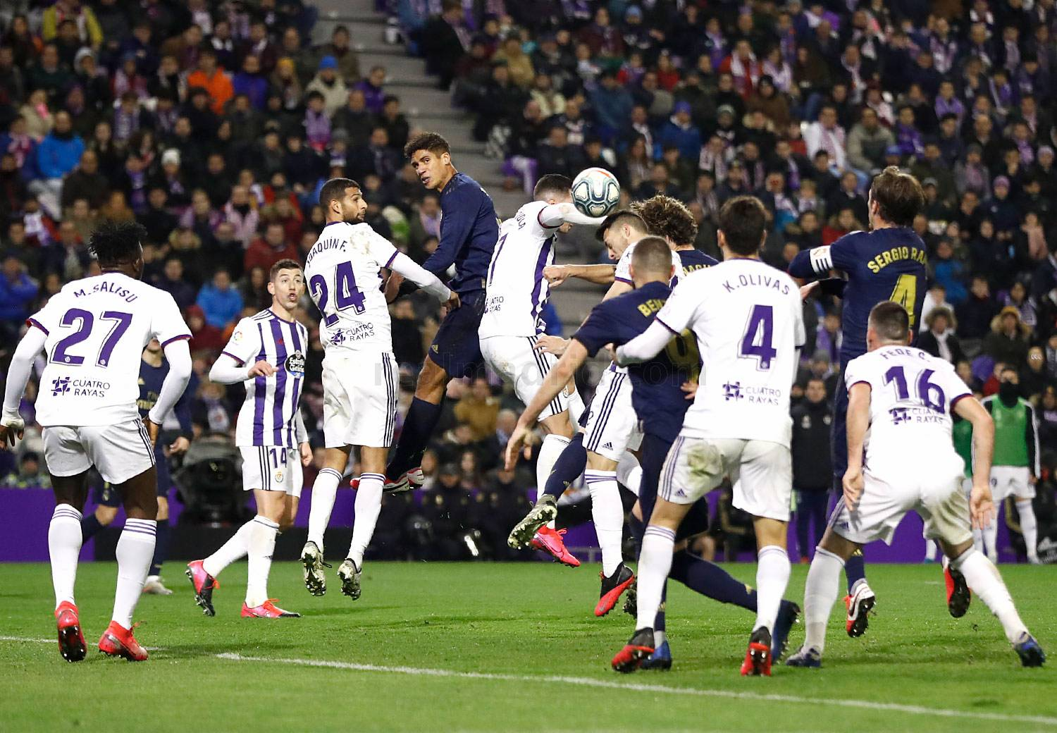 Real Madrid - Valladolid - Real Madrid - 26-01-2020
