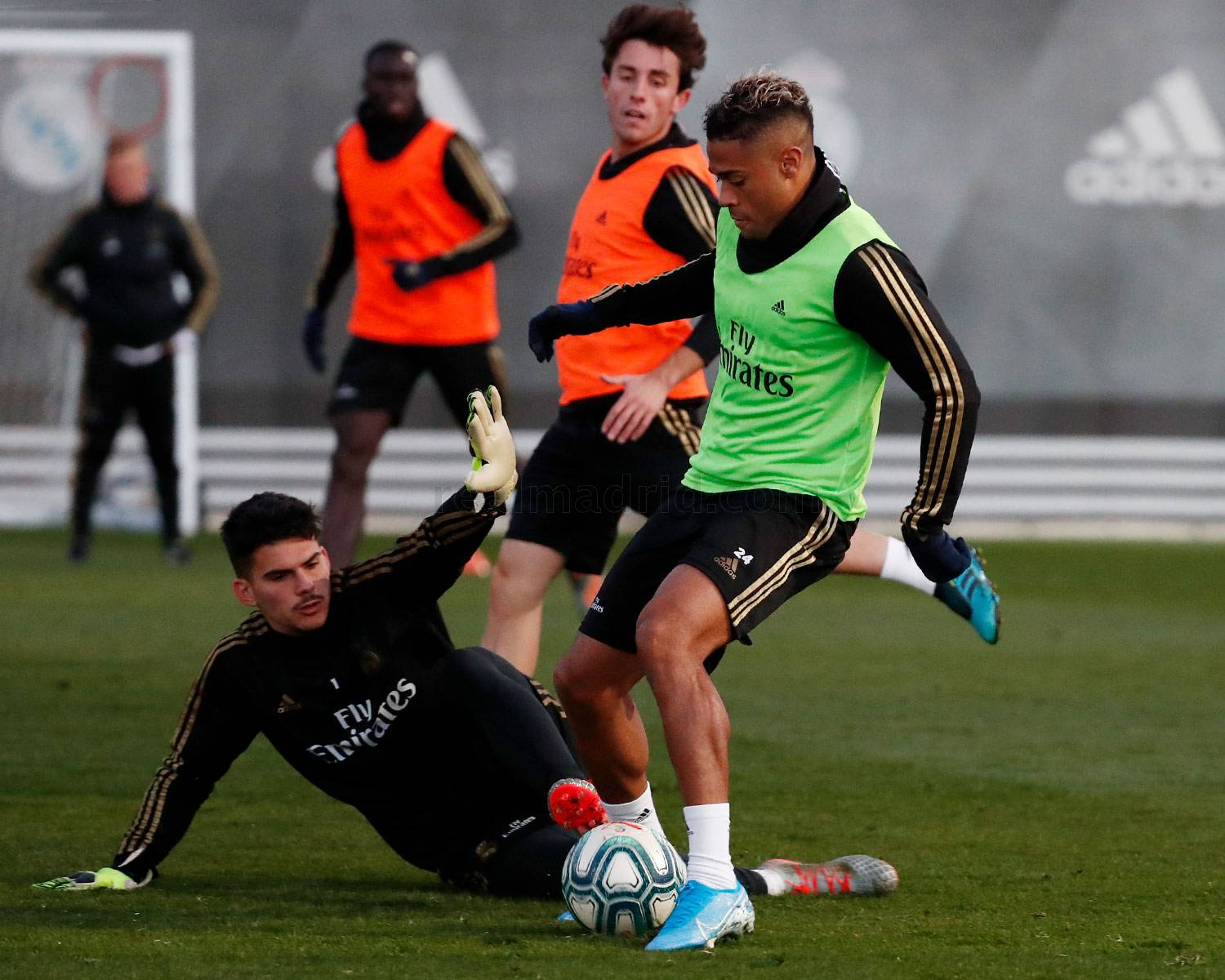 Real Madrid - Entrenamiento del Real Madrid  - 18-11-2019