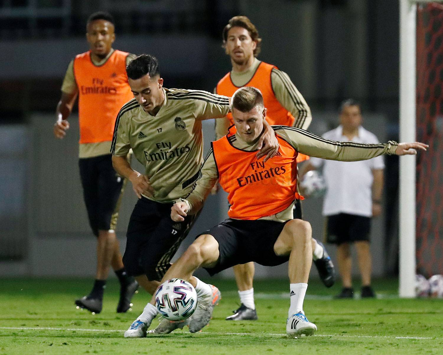 Real Madrid - Entrenamiento del Real Madrid en Yeda - 07-01-2020