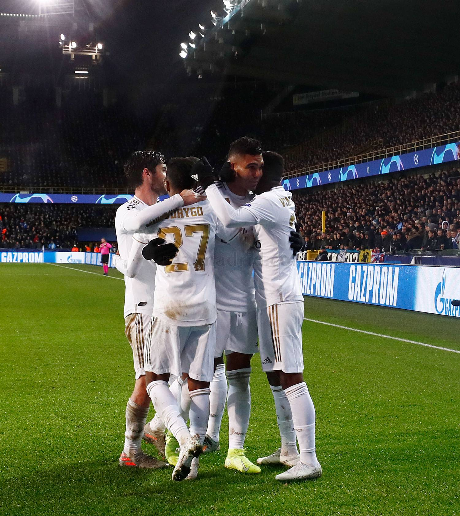 Real Madrid - Brujas - Real Madrid - 11-12-2019