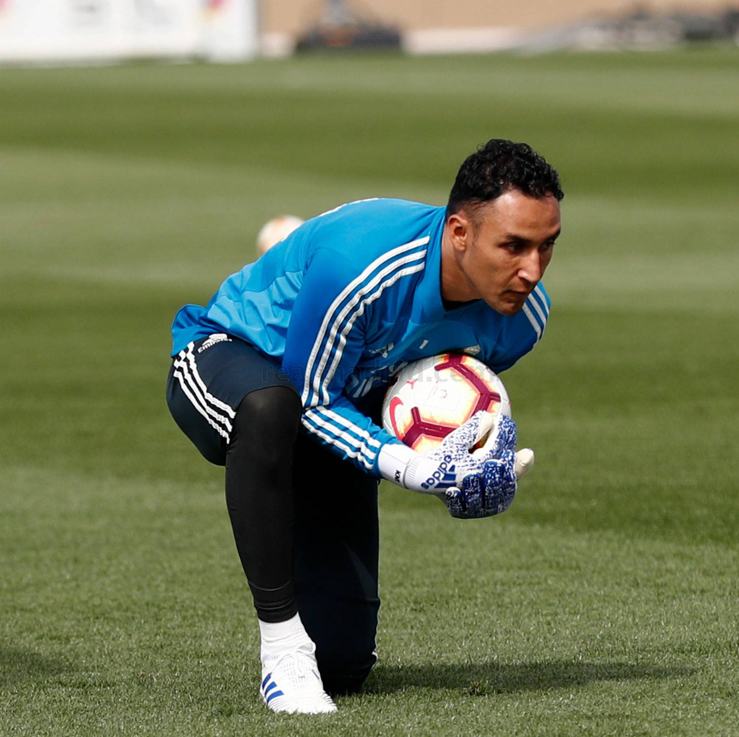 Real Madrid - Entrenamiento del Real Madrid - 14-04-2019