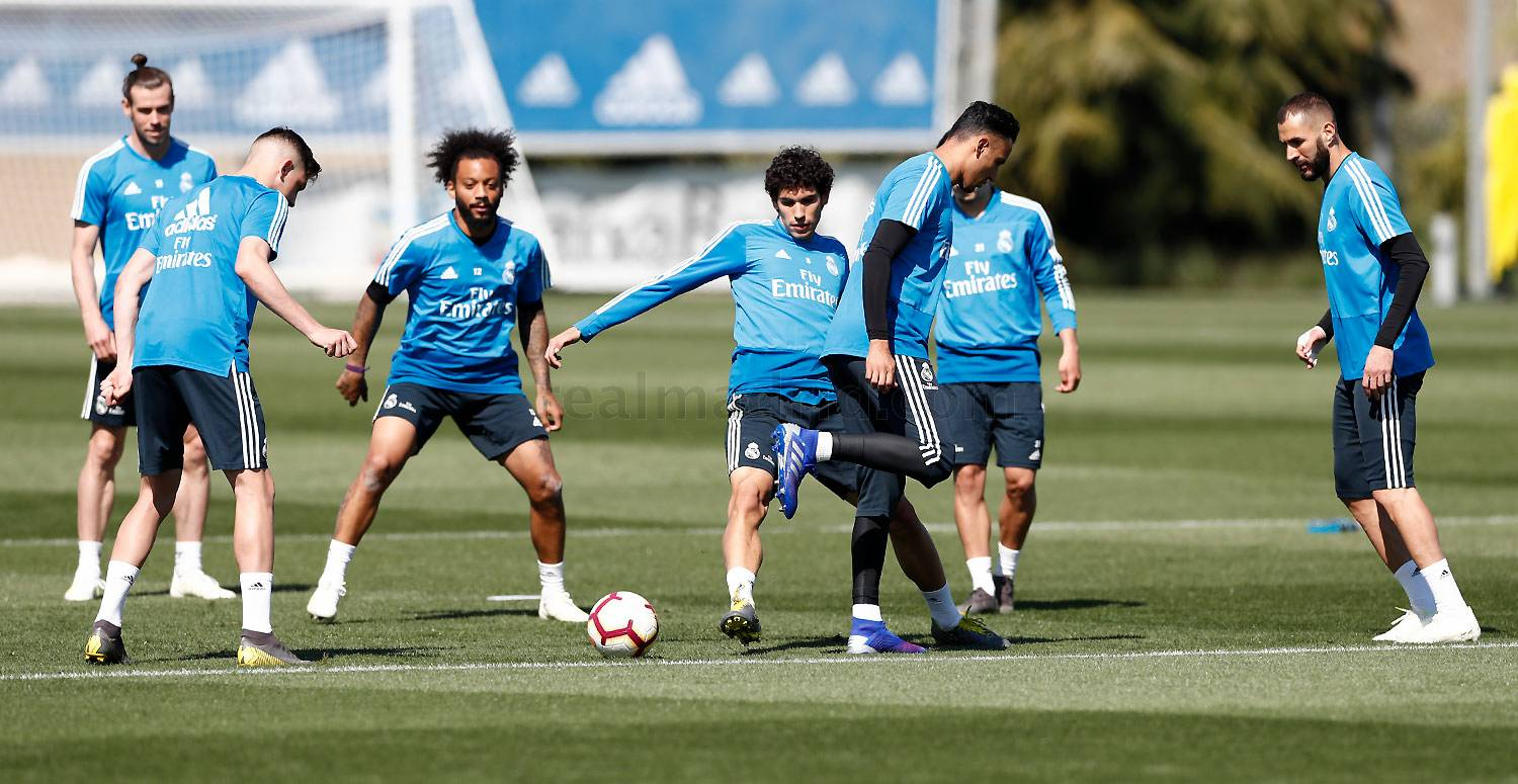 Real Madrid - Entrenamiento del Real Madrid - 29-03-2019