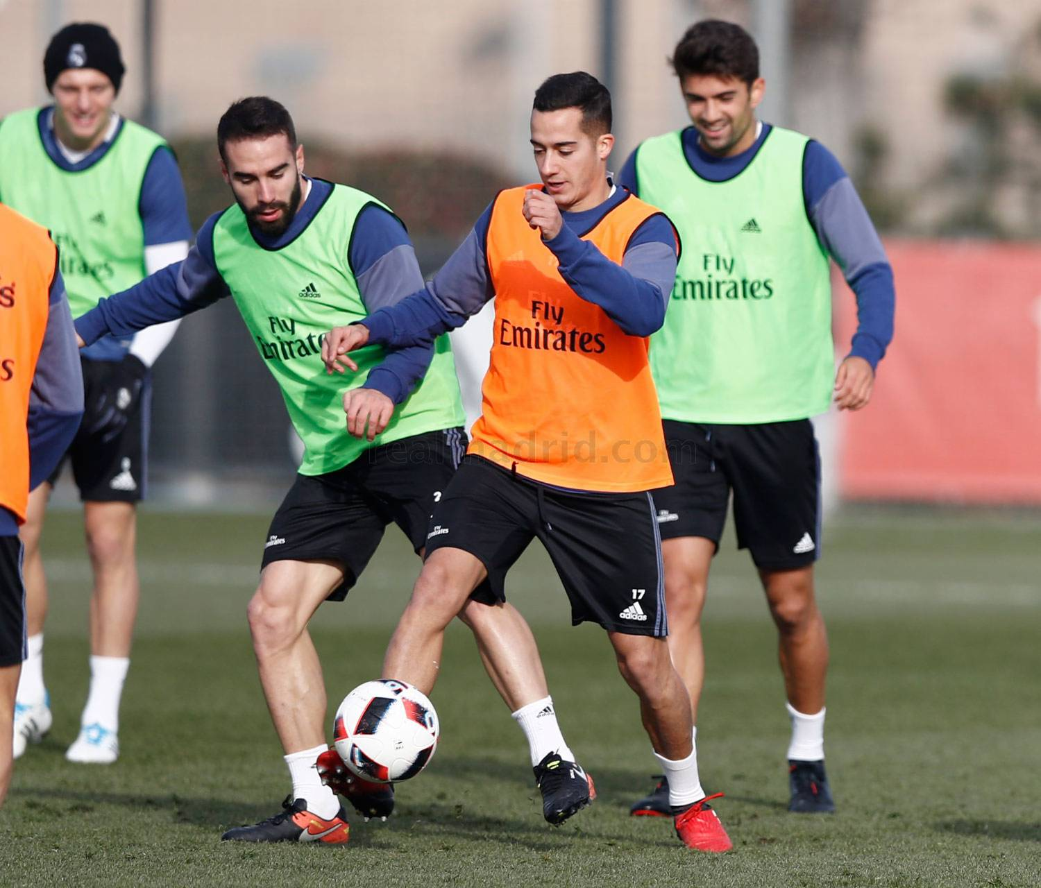 Real Madrid - Entrenamiento del Real Madrid - 10-01-2017