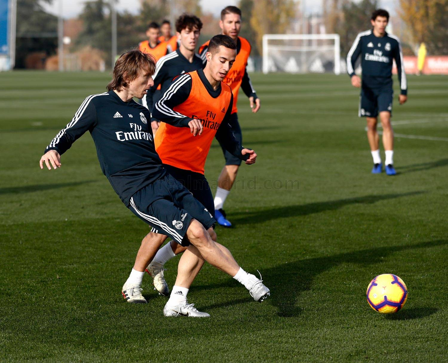 Real Madrid - Entrenamiento del Real Madrid - 08-12-2018