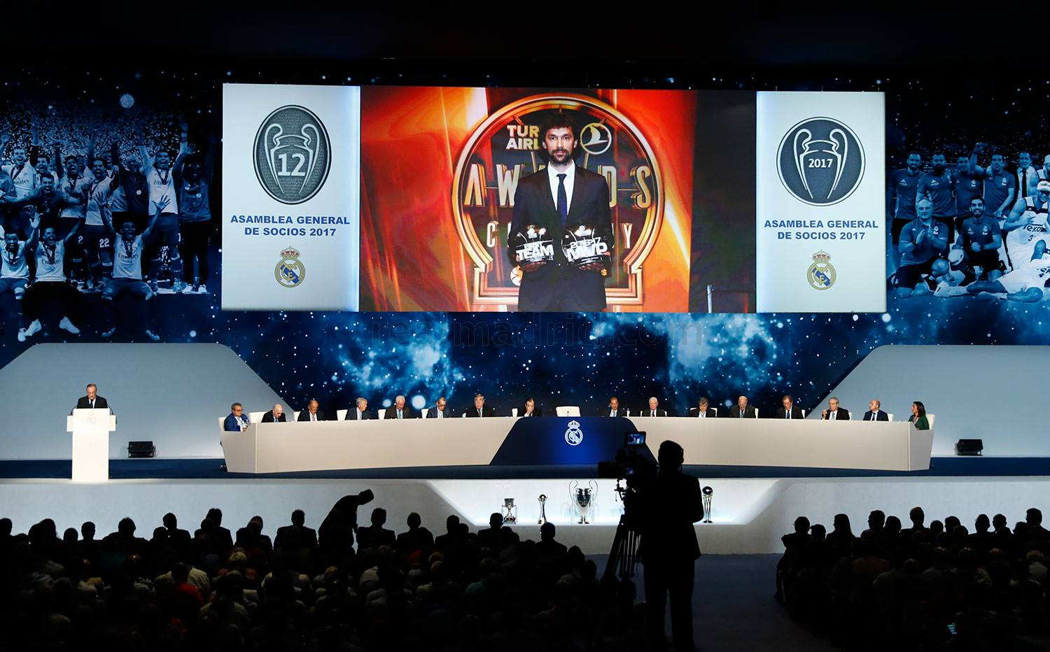 Real Madrid - Asamblea General 2017 - 01-10-2017
