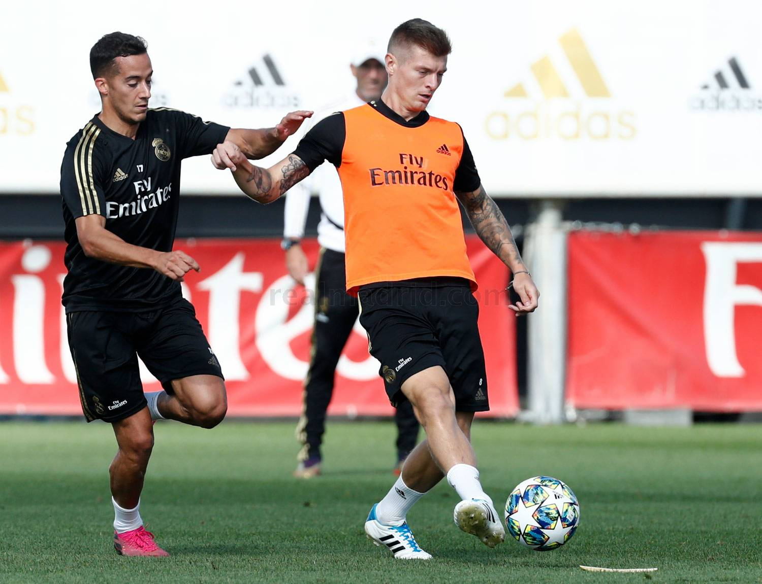 Real Madrid - Entrenamiento del Real Madrid  - 16-09-2019