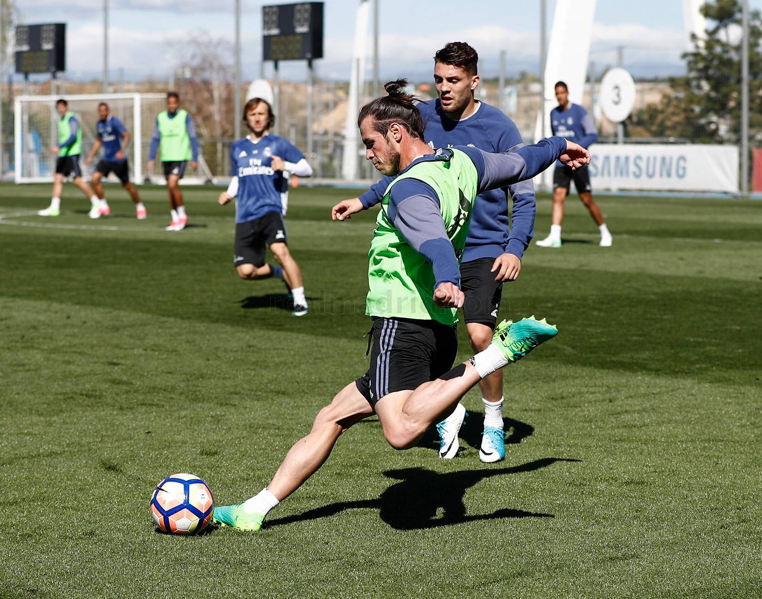 Real Madrid - Entrenamiento del Real Madrid - 01-04-2017